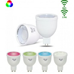 Mi-Light LED GU5.3 Spot 4W RGB/Warm wit WiFi/RF Controlled